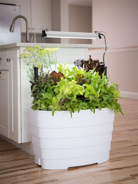 led grow light  planter  indoor gardening