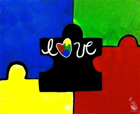 paint with a twist gift card puzzle autism delaware fundraiser sunday april 2