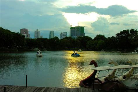 swan boats lumpini park lumpini park bangkok