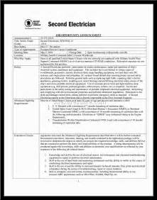 Electrician Resume Sles Free Resume As Electrician Sales Electrician Lewesmr