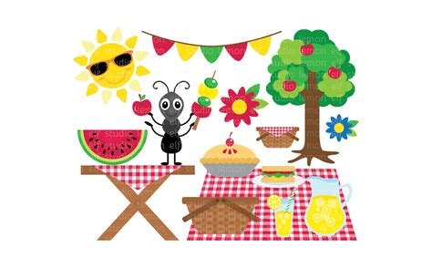 picnic clipart summer picnic clipart free clip