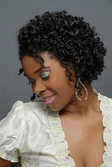 crochet braids on short natural hair short crochet braid hairstyles for black women beauty