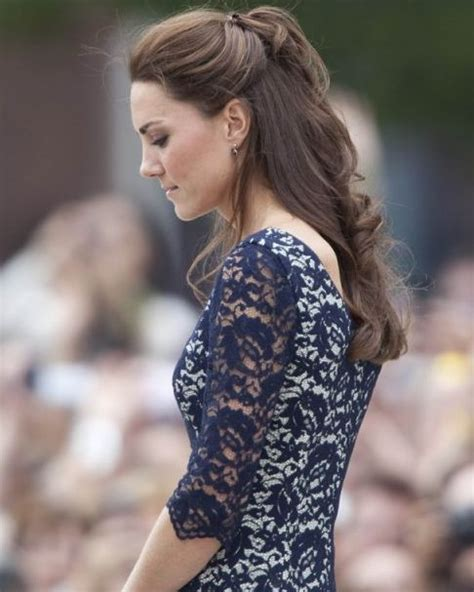 half up half down hairstyles kate middleton pinterest the world s catalog of ideas