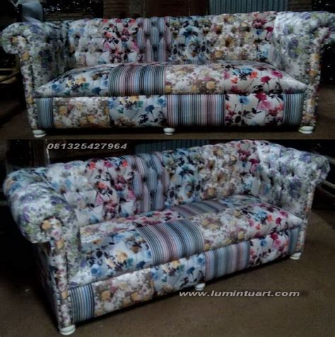 Kursi Busa Murah sofa kursi busa jok caister kancing minimalis tamu murah