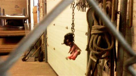 black doll noose investigate black doll hung by noose at parks dept
