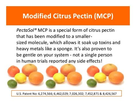 Modified Citrus Pectin Heavy Metal Detox by Pectaclear