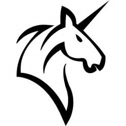 unicorn head horse with a horn free icon roei