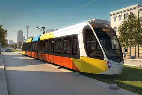 Light Rail Vehicle by Citadis Spirit Light Rail Vehicle