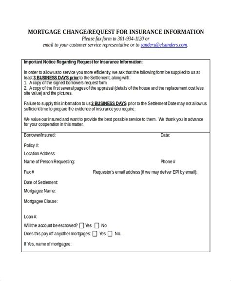 certificate of insurance request form template insurance certificate template 10 free word pdf