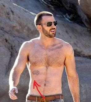 chris evans tattoo removed chris tattoos find someone who respect you for