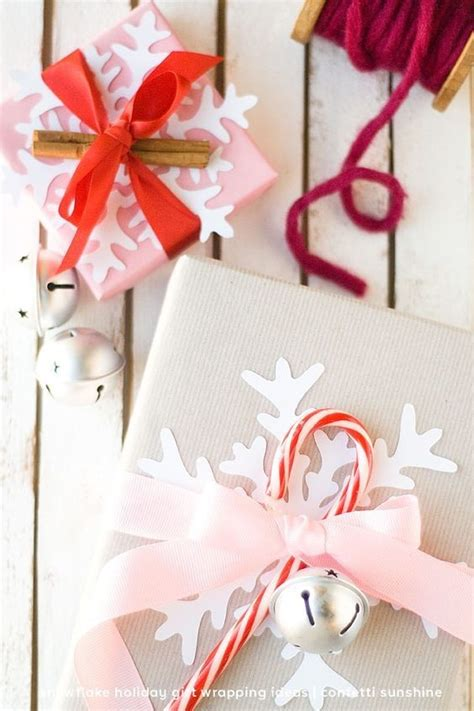 snowflake and candy cane accents fun ways to spruce up