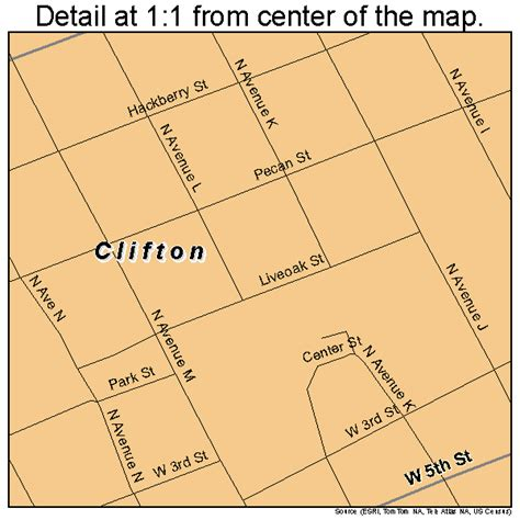 clifton texas map clifton texas map 4815472