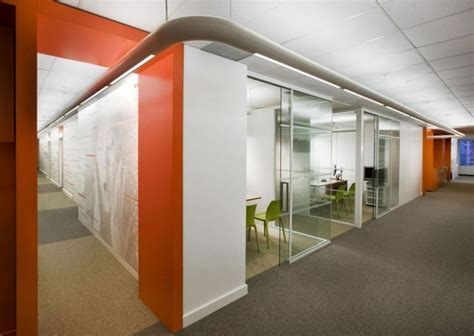 office interior glass walls home decor interior exterior orange office interior for wall combined by white color