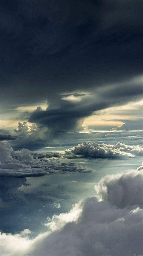 mc wallpaper  storm clouds sky wallpaper