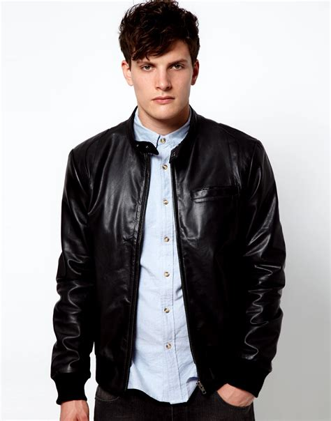 Jaket Black Brown Leather Style New Sk 57 asos leather jackets collection 2012 13 for casual