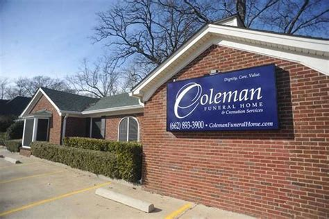 coleman funeral home of olive branch olive branch ms