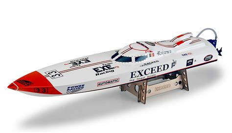 offshore rc gas boats exceed racing electric powered fiberglass p1 offshore