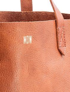 monogram madewell tote leather bag pinterest bags
