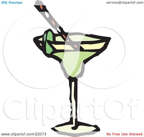 chagne glass cartoon cocktail glass graphic