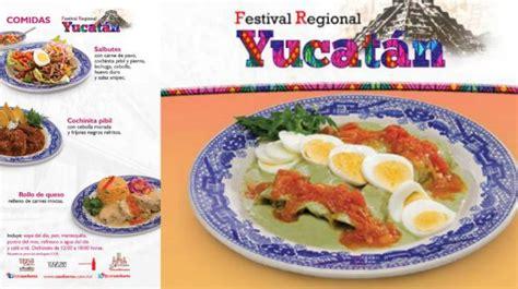 comida de yucatan mexico comida yucateca festival de yucat 225 n inicia en sanborns