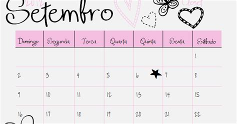 Calendario 7 De Setembro High Closet Calend 225 Setembro 2012