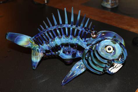buck glass fish functional glass fish sculpture by buck glass pics