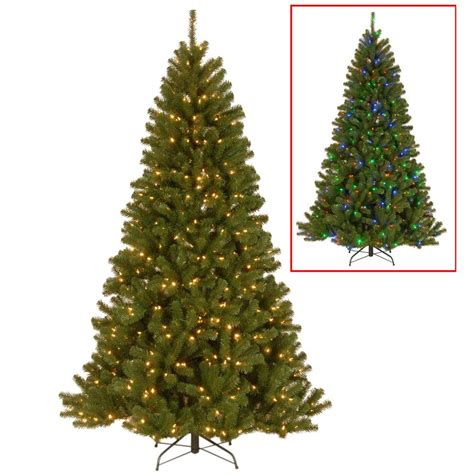 9 foot christmas tree with power pole national tree company 9 ft powerconnect valley spruce artificial tree with dual
