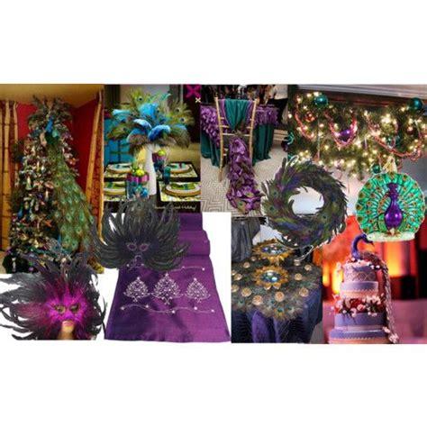 theme thursday peacock christmas masquerade peacock