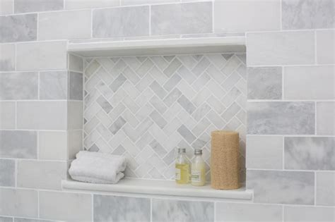 guest bathroom reveal january marble shelf and grout