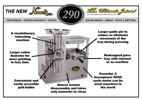Norwalk Juicer norwalk juicer