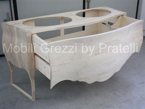 mobili grezzi economici mobili bagno legno grezzo excellent mobile bagno legno