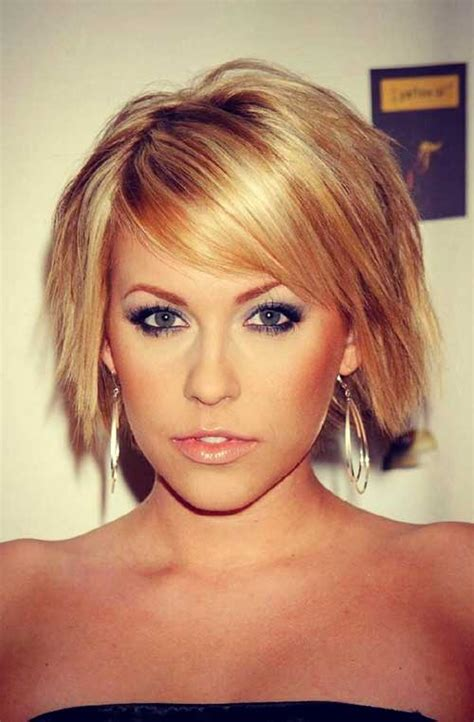 short piecey bob with bangs 10 layered razored bob bob hairstyles 2017 short