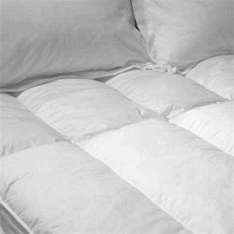 cuddle bed topper the cuddle cloud polyester bed topper by cd bedding of ca