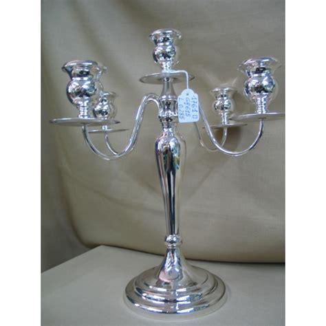 candelieri in argento candeliere argento 5 fiamme