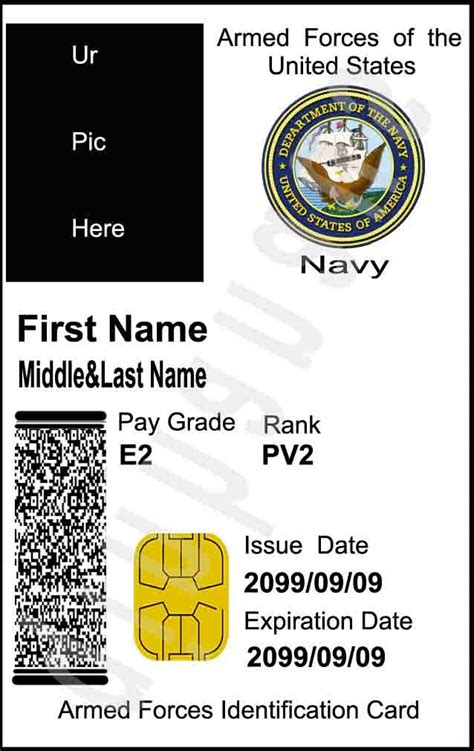 us army id card template the navy s grade 36 bureaucrat do your sailors a