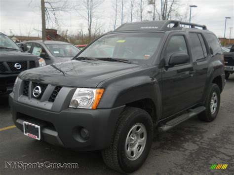 grey nissan xterra 2008 nissan xterra x 4x4 in night armor dark gray 502012