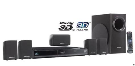 panasonic unveils hd 3d home theater systems