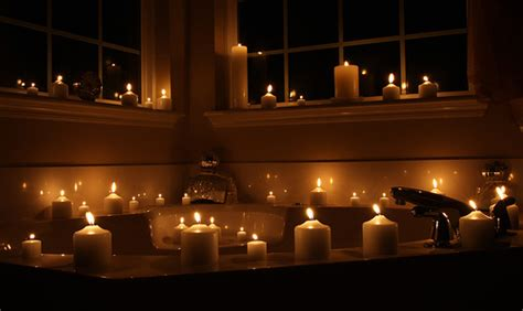 candles bathroom beautiful bathroom with elegant candles civilfloor