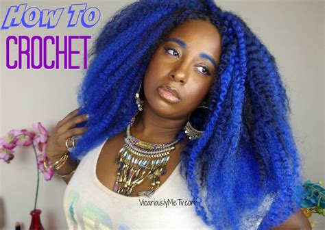 How To Do Crochet Braids Blue Ombre Hair ? Vicariously Me