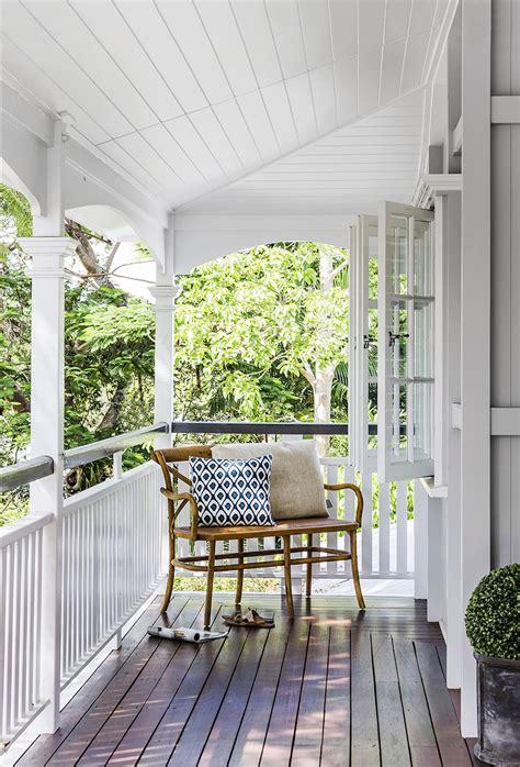 veranda wood queenslander veranda white painted wood railing