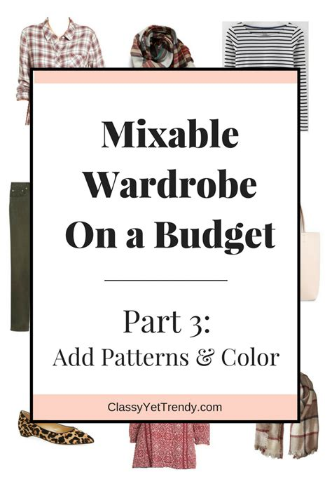 New Wardrobe On A Budget by Create A Mixable Wardrobe On A Budget Series Part 3