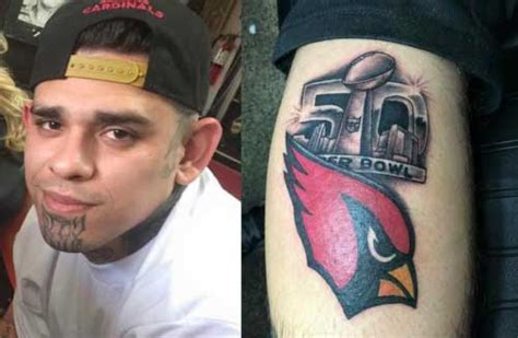 arizona cardinals tattoos tuesdays are for fails gallery worldwideinterweb