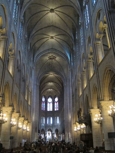 Notre Dame Cathedral Interior by A Seven Hour Lay In Daydream Tourist