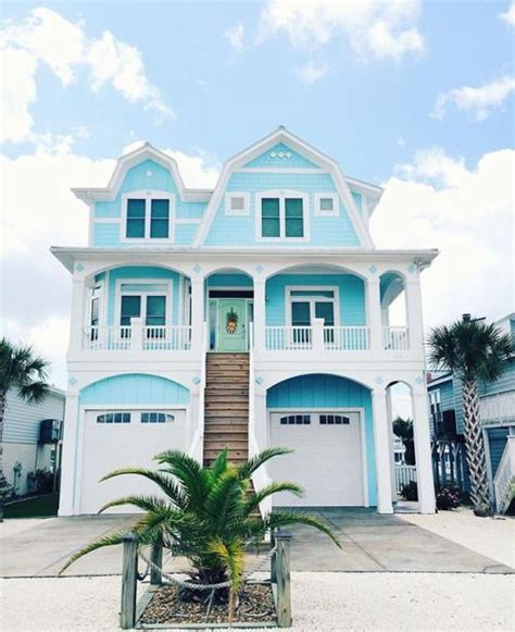 blue beach houses 534 best home by the sea exterior paint colors images on
