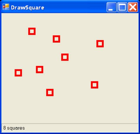 Drawing C Sharp by Draw Square Rectangle 171 2d Graphics 171 C C Sharp