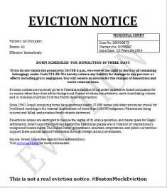 free printable eviction notice form generic