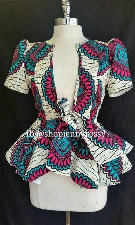 ankara tops and jackets on sales rose african print top ankara jacket african