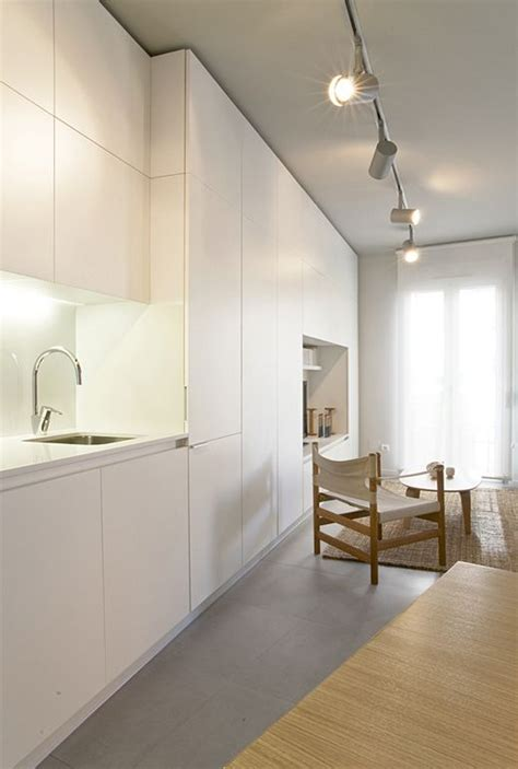 dado tiles for kitchen apartment dado madrid by iglesias hamelen arquitectos