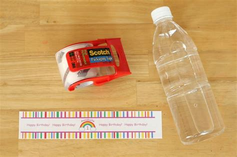 Handmade Water Bottle Cover - how to make custom water bottle labels custom water