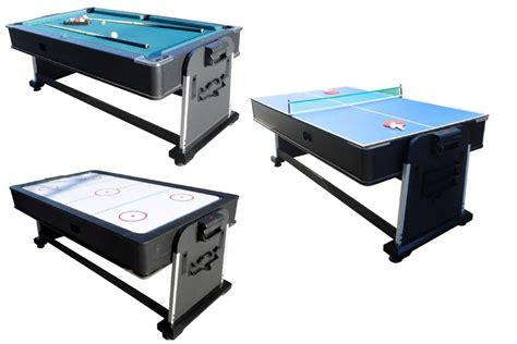 tornado air hockey table 3 in 1 rotating multi table pool air hockey